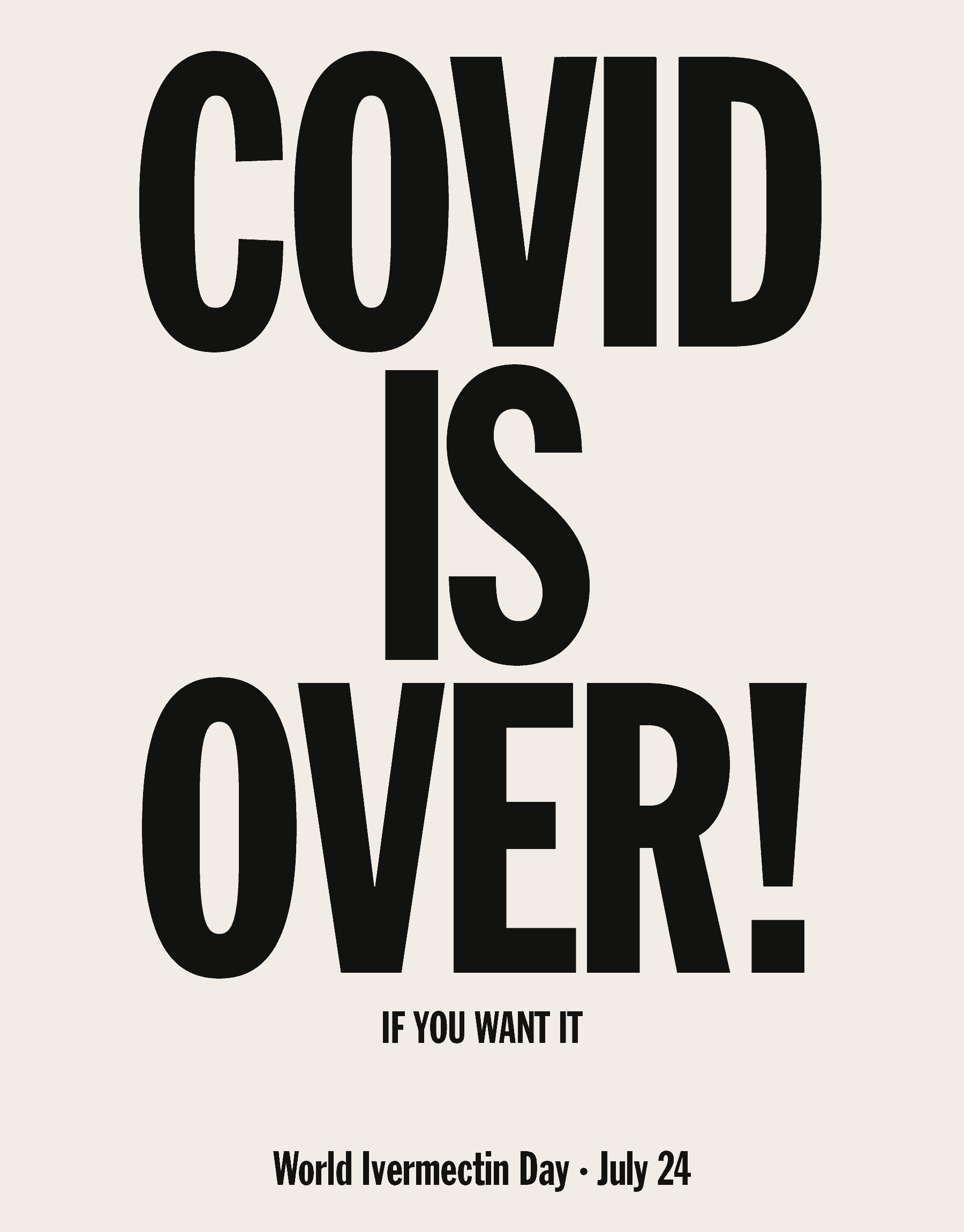 COVID is Over